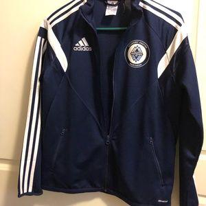Adidas Vancouver Whitecaps FC training zip up